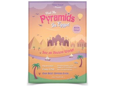 Pyramids of Egypt Flyer