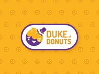 Duke of Donuts logo