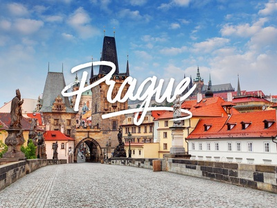 Prague praag praha prague photography cities city type typography