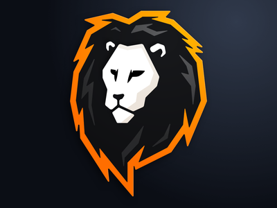 Lion Logo gaming mascot logo illustration sports e-sports esports e-sport sport esport character lion