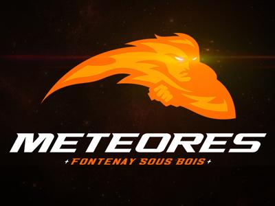 Meteores météores meteor football americanfootball fontenay fontenaysousbois logo logodesign sports sportslogo