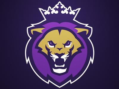 Monarchs football americanfootball sport sportlogo purple gold lion logodesign logo monarchs