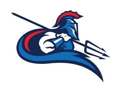 BIARRITZ ATLANTES sportslogo pays basque logodesign logo euskadi  football biarritz atlantis atlantes aquaman american football