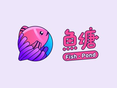 Fish Pond Logo Design