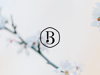 B3 logomark type blossom icon logo