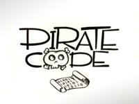 Pirate Code Hand Type