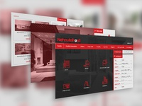 WEB Redesign - layouts