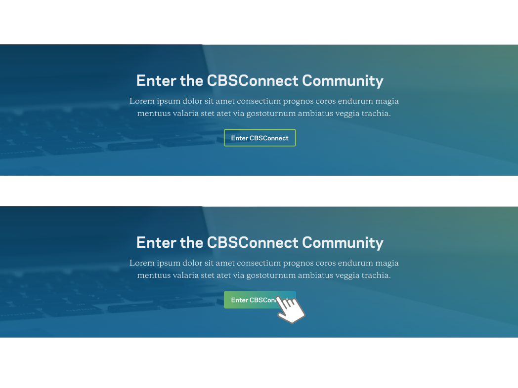 Columbia Business School Connect Hover States visual design ux hover state