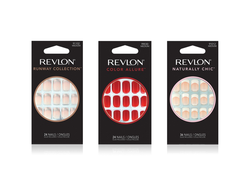 Revlon Nail Collection cosmetics packaging design