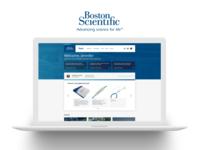 Boston Scientific E-Commerce Site