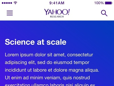17 10 Yahoo Research Homepage Mobile