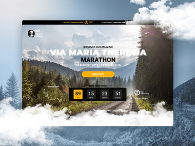Mountain Marathon Landing Page