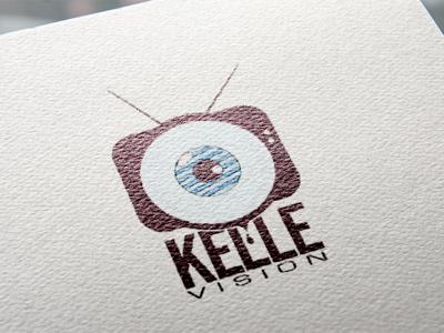 Kellevision logo artist art graphic designer graphics graphic illustration brand identity brand logo designer logo design logo