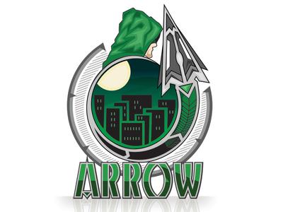 Arrow 2gen green arrow fanart vector design illustrator graphic art illustration graphic design