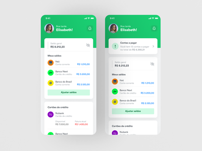 Organizze - New Dashboard finance application dashboard ux dashboard ui expense tracker finance manager finance bills organizze finance app dashboard app dashboard