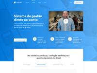 Controlle - web design exploration