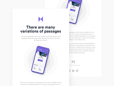 Meu Mei - Email layout web design web mail design mail layout email templates email template template uiux ui newsletter email marketing email design email