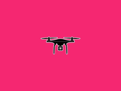 DRONE draw red branding vector invitation cartoon ux ui animation sis design drawing