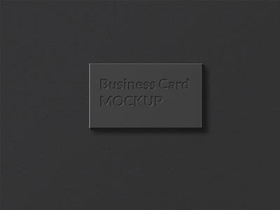 Business Card Mockup print presentation mockup minimal identity elegant display corporate card business card branding brand