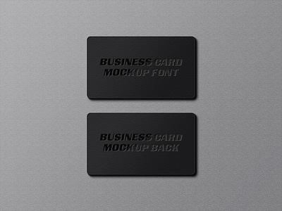Business stationery mockup Free Psd print presentation mockup minimal identity elegant display corporate card business card branding brand