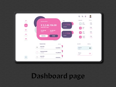 Dashboard  Coinbase  Web coinbase dashboard mockupfree mockup webphone web app