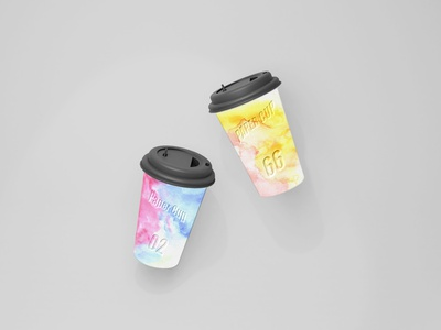 Paper cup Mockup set cup mockup cup brand cup coffee cup coffee brand coffee cafe branding branding mockup branding brand mockup beverages beverage
