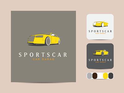Minimal yellow car line art logo Design business outline vector icon design illustration art label line art logo minimal.yellowcolor car