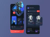 Robot store concept