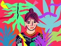 Illustrated Self-Portrait