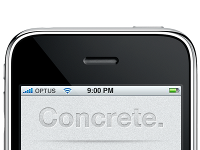 Concrete. Coming Soon. concrete grey helvetica texture iphone