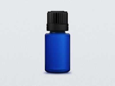 Fragrance bottle icon blue bottle icon black fragrance scent shape layers packaging