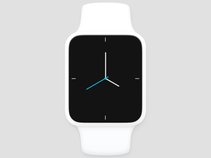 Apple Watch Face figma watchface watchos apple apple watch product design