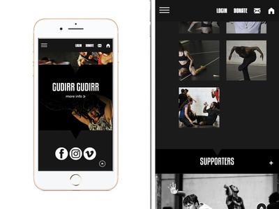 Marrugeku ui responsive design website