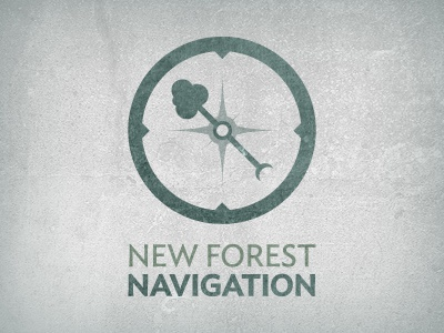 New Forest Navigation Logo england logo mark emblem
