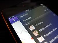 Social App WIP - iPhone