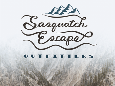 Outdoor Adventure Outfitters logo concept