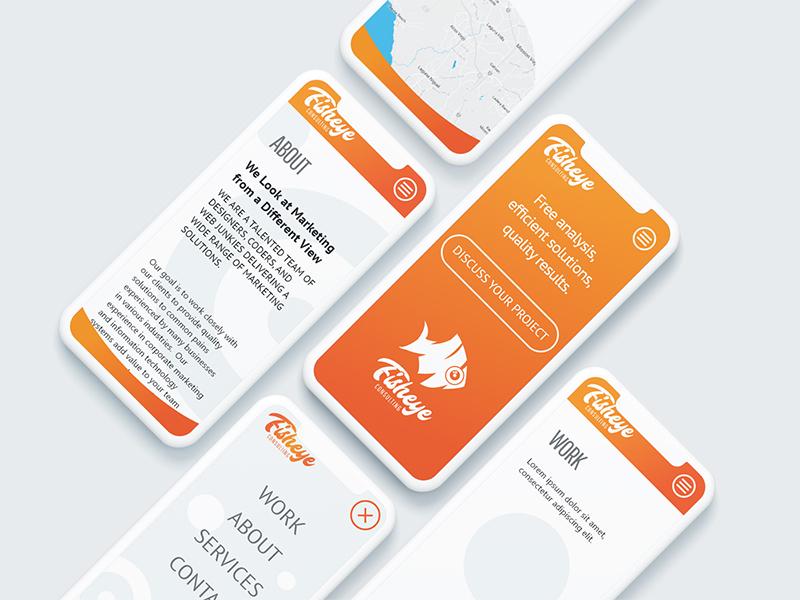 Fisheye Consulting Brand Refresh mobile marketing consulting brand ux ui web