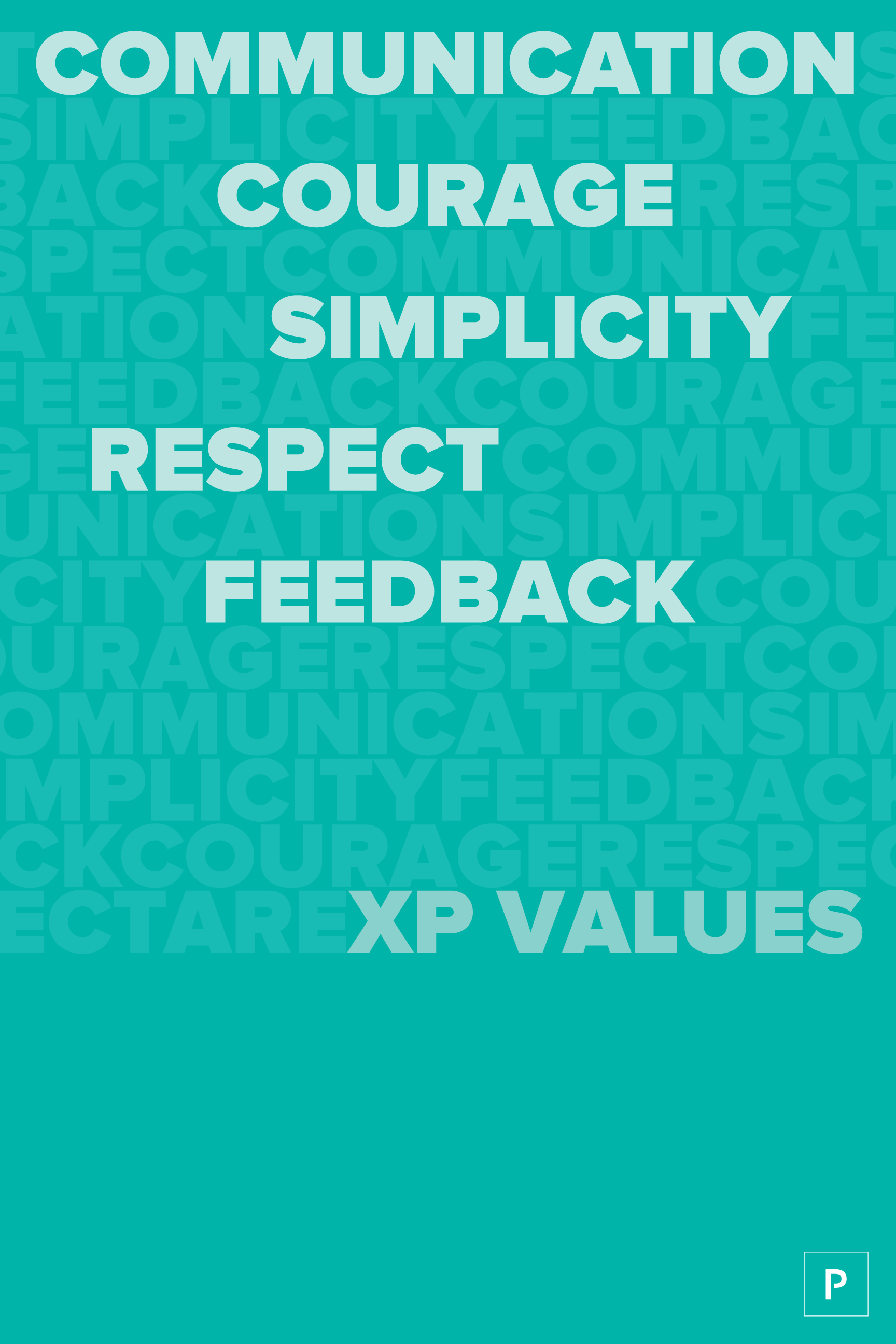 Xp values posters all words