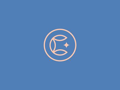 Cotton Lake Mark cotton minnesota lake minimal graphic logo typography simplistic