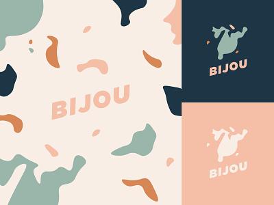 Bijou Lake minnesota logo typography bijou terrazzo simplistic lake
