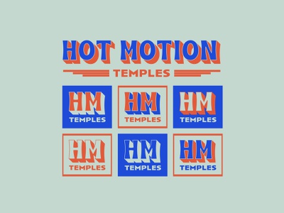 Temples band hot motion music temples funky groovy typography