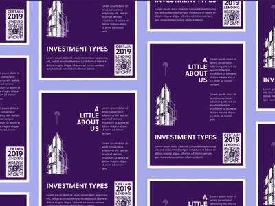 Marketing Flyer ui ux print layout flyer poster illustration branding design