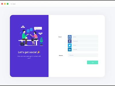 Form 02 web app ux ui illustration layout branding design