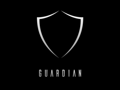 Guardian Logo layout mobility hackathon safety mobile minimal branding app illustration design