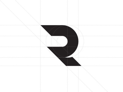 R is for Bobby bobby simple modern logo