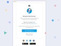 User feedback survey emailer