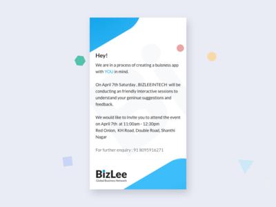 mobile app user testing invitation