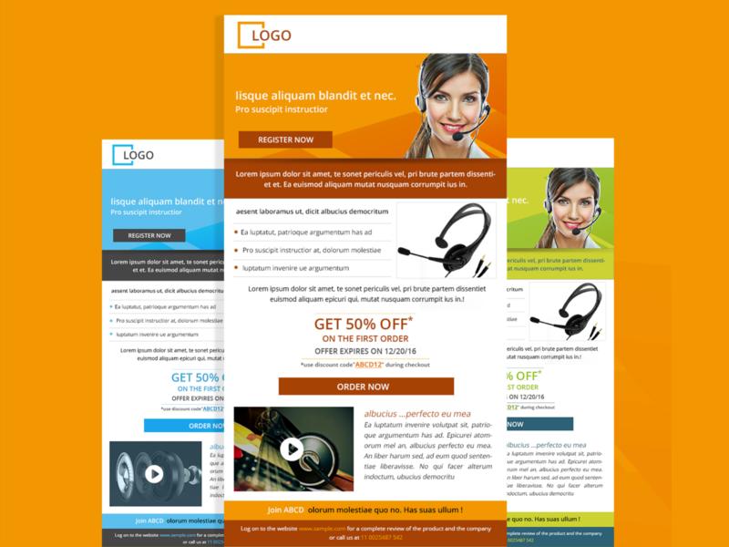mailer template design marketing campaign templates mailer