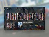 Tv On Demand—UI Weekly Challenges-Season 02 / Week [1/10]