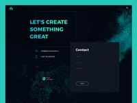 Portfolio Redesign - Contact